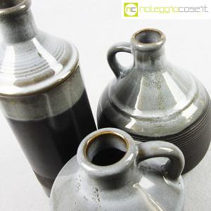 Ceramiche Bucci, bottiglia e coppia brocche, Franco Bucci (5)
