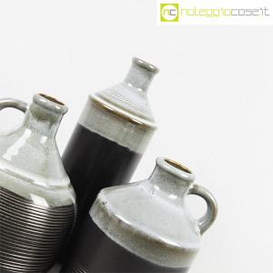 Ceramiche Bucci, bottiglia e coppia brocche, Franco Bucci (6)