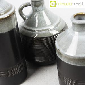 Ceramiche Bucci, bottiglia e coppia brocche, Franco Bucci (7)