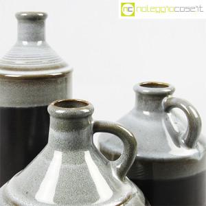 Ceramiche Bucci, bottiglia e coppia brocche, Franco Bucci (8)