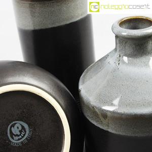 Ceramiche Bucci, bottiglia e coppia brocche, Franco Bucci (9)