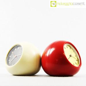 Secticon, orologio da tavolo T2 rosso e bianco, Angelo Mangiarotti (3)