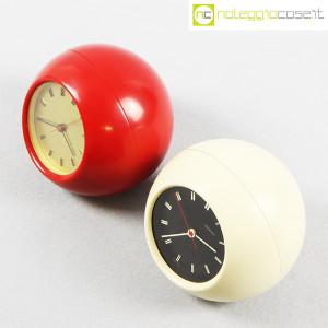 Secticon, orologio da tavolo T2 rosso e bianco, Angelo Mangiarotti (4)