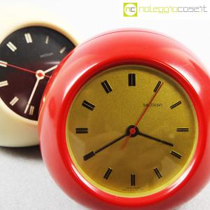 Secticon, orologio da tavolo T2 rosso e bianco, Angelo Mangiarotti (5)