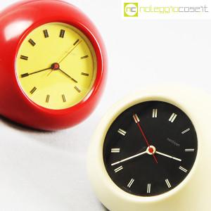 Secticon, orologio da tavolo T2 rosso e bianco, Angelo Mangiarotti (6)