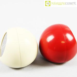 Secticon, orologio da tavolo T2 rosso e bianco, Angelo Mangiarotti (7)