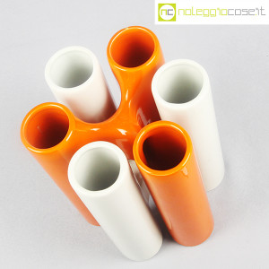 Ceramica componibile bianco arancio (2)