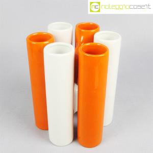 Ceramica componibile bianco arancio (4)