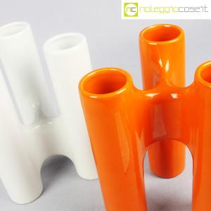 Ceramica componibile bianco arancio (9)