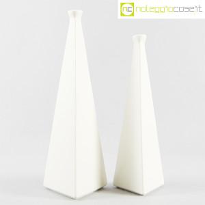 Milesi Ceramiche, coppia vasi a piramide (1)