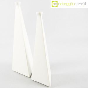 Milesi Ceramiche, coppia vasi a piramide (3)