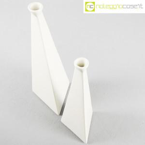 Milesi Ceramiche, coppia vasi a piramide (4)
