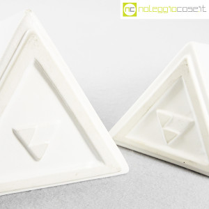 Milesi Ceramiche, coppia vasi a piramide (8)