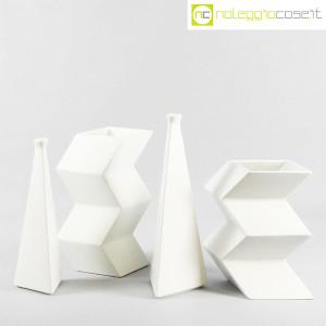Milesi Ceramiche, coppia vasi a piramide (9)