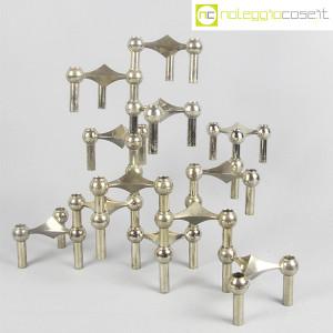 Nagel, porta candele 12 elementi - SET 02, Ceasar Stoffi (1)