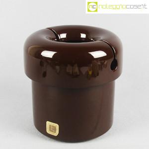 Lineaform Ceramiche, vaso marrone, G. Paolin, M. Rossi (1)