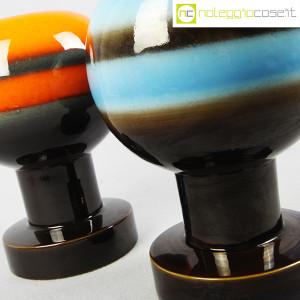 SIC Ceramiche Artistiche, coppia vasi anni '70 (5)