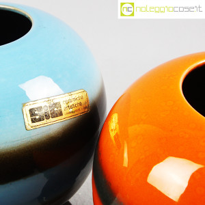 SIC Ceramiche Artistiche, coppia vasi anni '70 (9)