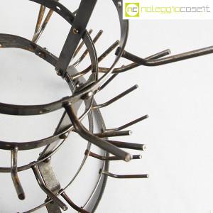 Scolabottiglie antico in metallo (8)
