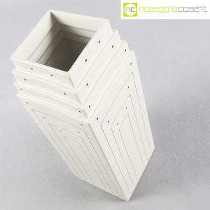 Vienna Collection, vaso bianco con decori, Heide Warlamis (4)