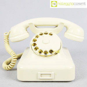 Siemens, telefono in bachelite bianco W48 (2)