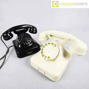 Siemens, telefono in bachelite bianco W48 (9)