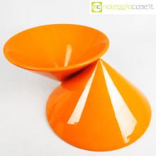 Vaso doppiocono arancione