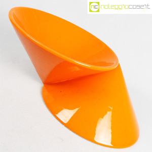 Vaso doppiocono arancione (3)