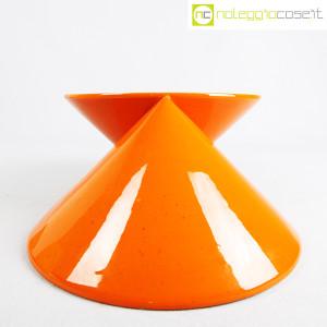 Vaso doppiocono arancione (4)