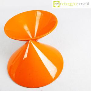 Vaso doppiocono arancione (6)