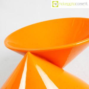 Vaso doppiocono arancione (7)