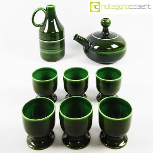 Ceramiche Franco Pozzi, caraffa e brocca con bicchieri, Ambrogio Pozzi (2)