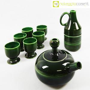 Ceramiche Franco Pozzi, caraffa e brocca con bicchieri, Ambrogio Pozzi (3)
