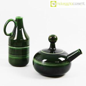 Ceramiche Franco Pozzi, caraffa e brocca con bicchieri, Ambrogio Pozzi (4)