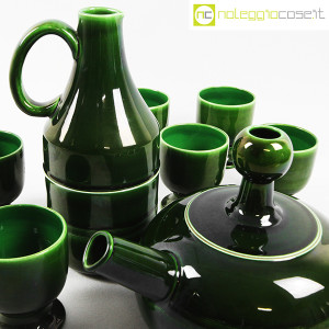 Ceramiche Franco Pozzi, caraffa e brocca con bicchieri, Ambrogio Pozzi (5)
