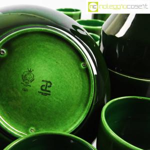 Ceramiche Franco Pozzi, caraffa e brocca con bicchieri, Ambrogio Pozzi (8)