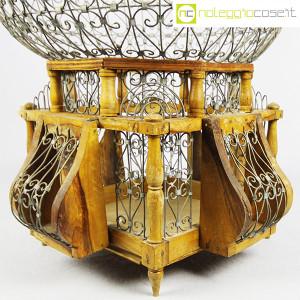 Gabbia voliera in legno e metallo (5)
