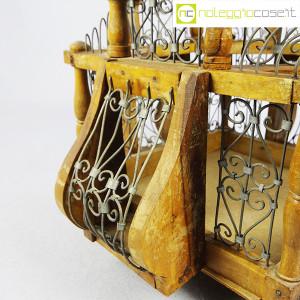 Gabbia voliera in legno e metallo (7)