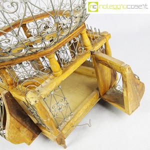 Gabbia voliera in legno e metallo (9)