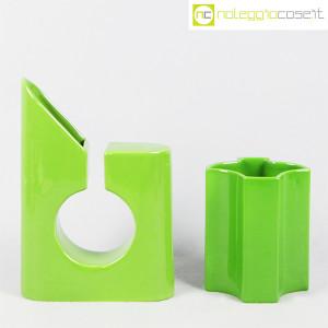 Coppia di vasi verdi (2)