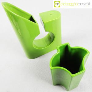 Coppia di vasi verdi (4)