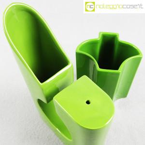 Coppia di vasi verdi (8)