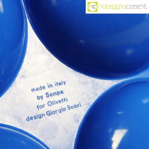 Olivetti, posacenere blu, Giorgio Soavi (8)