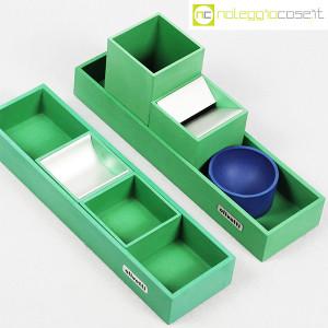 Olivetti, set da scrivania verde, Bruno Munari (4)