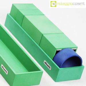 Olivetti, set da scrivania verde, Bruno Munari (7)