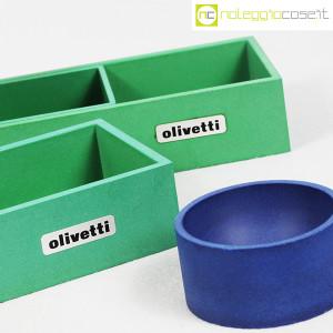 Olivetti, set da scrivania verde, Bruno Munari (8)