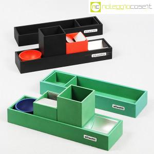 Olivetti, set da scrivania verde, Bruno Munari (9)