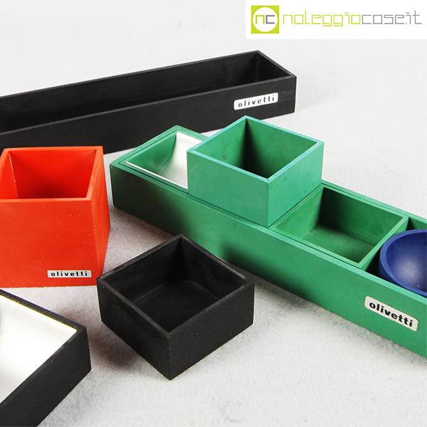 Olivetti set da ufficio bruno munari for Oggetti da ufficio