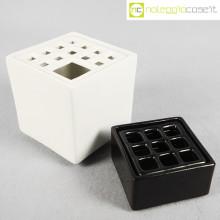 Scatole in ceramica nero-bianco