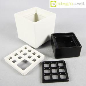 Scatole in ceramica nero-bianco (8)
